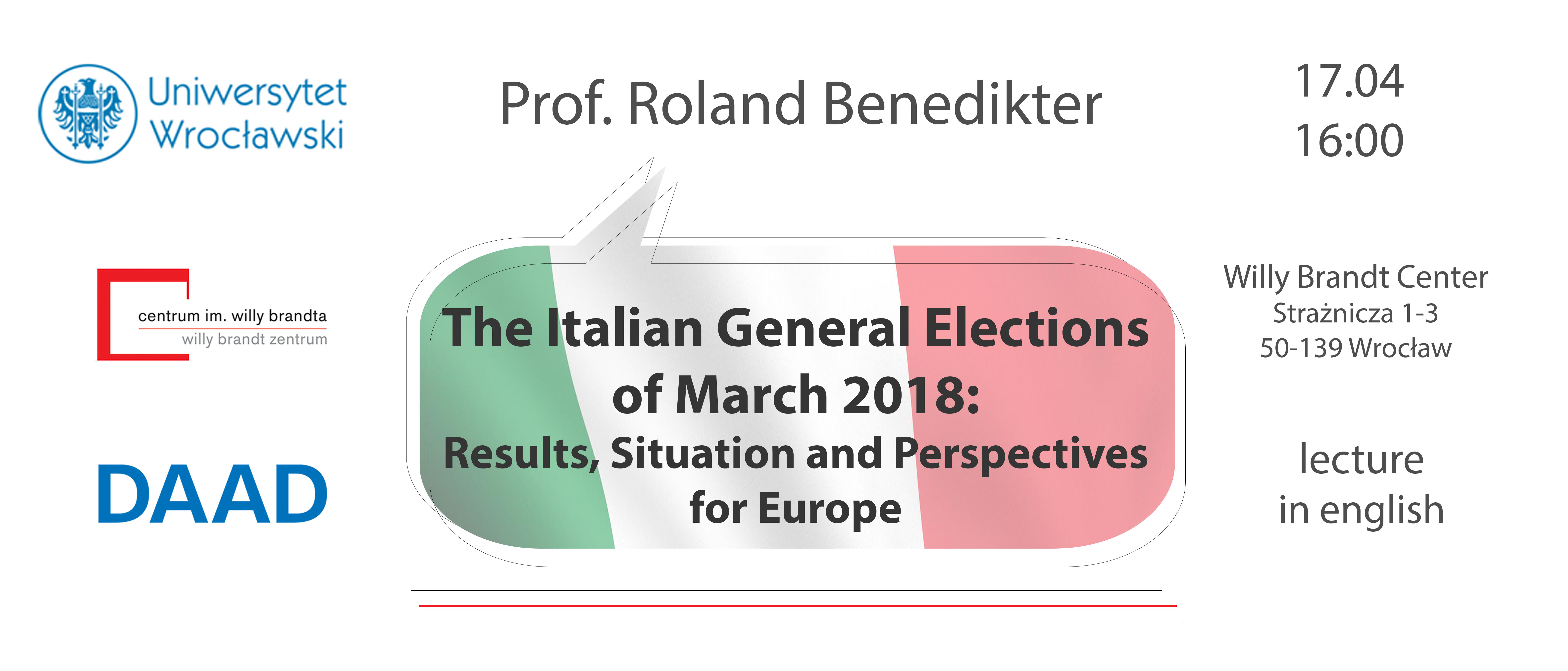 Prof. Benedikter | The Italian General Elections of March 2018